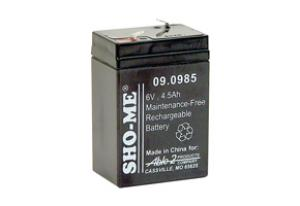 SHO-ME 6 Volt Replacement Battery