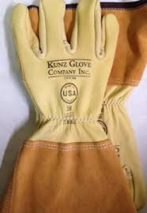 Kunz 556 Small Cowhide Drivers Glove w/ 4'' cuff