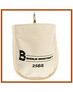 Bashlin Canvas Nut & Bolt Bag w/Snap
