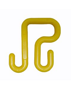 Buckingham Pair of Yellow Polymer Bucket Hooks