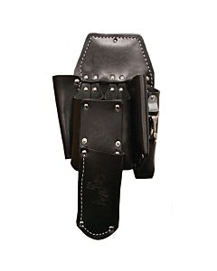 Buckingham Black Double Back Holster w/ Knife Sheath Attachment
