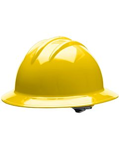 Bullard Full Brim Hard Hat w/Ratchet Suspension