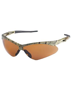 Nemesis Camouflage Frame, Bronze Lens Safety Glasses (19644)
