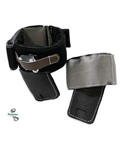 "Buckingham 4"" Angled Pad w/Metal Insert & Cinch Strap for BuckAlloy™ Climber"