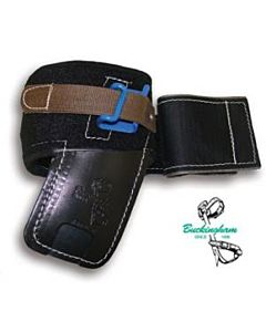 "Buckingham 4"" Angled Pad w/Metal Insert & Cinch Strap"