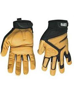 Klein Journeyman Leather Work Gloves (K4) - Size- X-Large