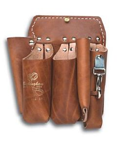 Buckingham 5-pocket Brown Short Back Tool Holster