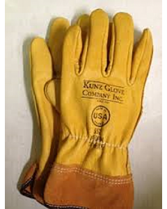 Kunz Leather Driver Gloves w/ 2'' cuff Size-  XL