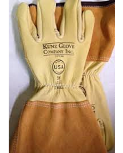 Kunz 556 Medium Cowhide Drivers Glove w/ 4'' cuff