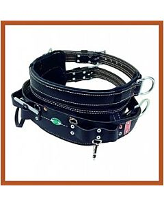 Bashlin Black Dri-lex 4 D-ring Line Belt