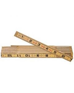 Klein 6' Folding Wood Ruler, Outside Read