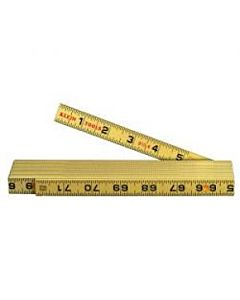 Klein 6' Folding Fiberglass Ruler, Inside Read