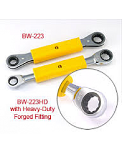 "Bug Wrench Heavy Duty 3/4"" x 9/16"" Insulated Double Box Ratcheting Wrench"