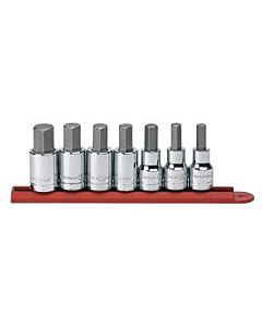 Gearwrench 1/2'' Drive SAE 7-peice Hex Bit Socket Set