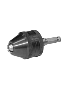 "Reliable 1/2"" Keyless Chuck with 7/16"" Shank Included"