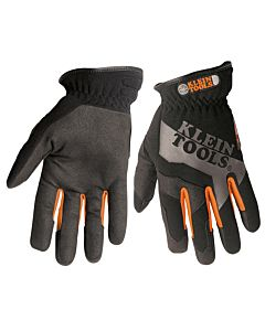 Klein Utility Gloves (x-lg) with leatherlike palm
