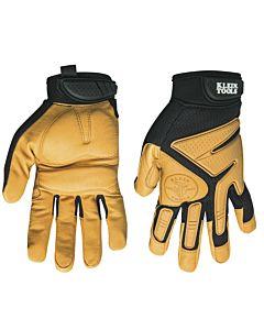 Klein Journeyman Leather Work Gloves, Medium