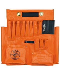 Klein Vinyl Aerial Tool Apron with Magnetic Strip