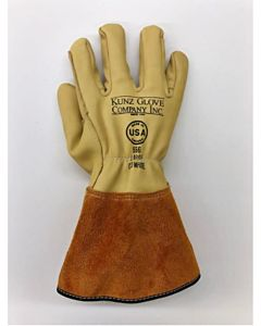 Kunz 556 Cowhide Drivers Style Glove, Large