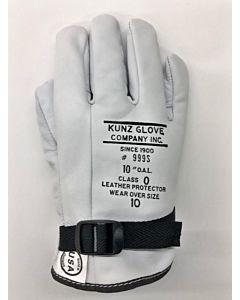 "Kunz 10"" Class 0 Low Voltage Gloves Size 9"